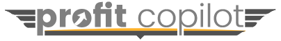 Profit Copilot Digital Marketing Tips for Bloggers & Email List Builders Logo
