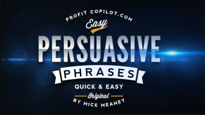 Persuasive Phrases to Boost Conversion Rate