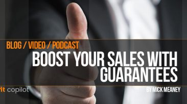 Write guarantee that boots conversion rates