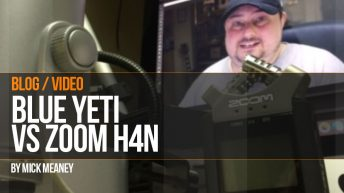 Microphone Test: Blue Yeti vs Zoom H4N