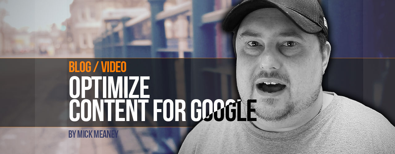 How to Optimize your Content for Google